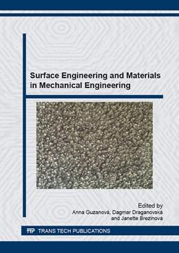 Abbildung von Guzanov? / Draganovsk? | Surface Engineering and Materials in Mechanical Engineering | 1. Auflage | 2015 | Volume 818 | beck-shop.de