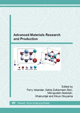 Abbildung von Iskandar / Bisri | Advanced Materials Research and Production | 1. Auflage | 2015 | Volume 1112 | beck-shop.de