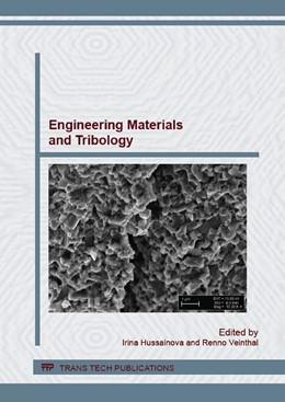 Abbildung von Hussainova / Veinthal | Engineering Materials and Tribology | 1. Auflage | 2016 | Volume 674 | beck-shop.de