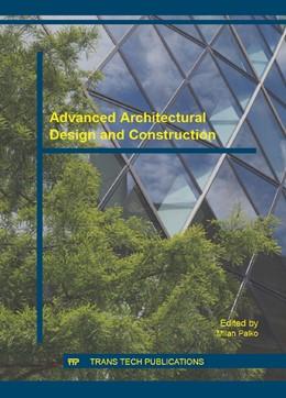 Abbildung von Palko   Advanced Architectural Design and Construction   1. Auflage   2016   Volume 820   beck-shop.de