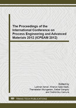 Abbildung von Ismail / Azizli | The Proceedings of the International Conference on Process Engineering and Advanced Materials 2012 (ICPEAM 2012) | 1. Auflage | 2014 | Volume 917 | beck-shop.de