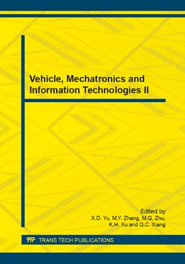 Abbildung von Yu / Zhang / Zhu / Xu / Xiang | Vehicle, Mechatronics and Information Technologies II | 2014 | Volumes 543-547