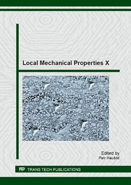 Abbildung von Hau?ild | Local Mechanical Properties X | 1. Auflage | 2014 | Volume 606 | beck-shop.de