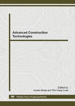 Abbildung von Abbas / Tan | Advanced Construction Technologies | 2014 | Volumes 919-921