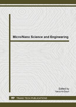 Abbildung von Al-Douri   Micro/Nano Science and Engineering   1. Auflage   2014   Volume 925   beck-shop.de