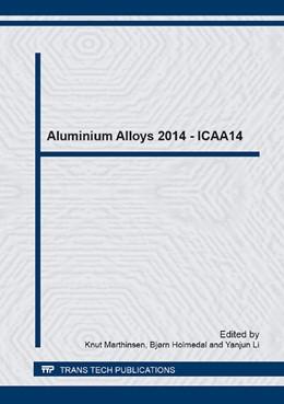 Abbildung von Marthinsen / Holmedal / Li   Aluminium Alloys 2014 - ICAA14   2014   Volumes 794-796