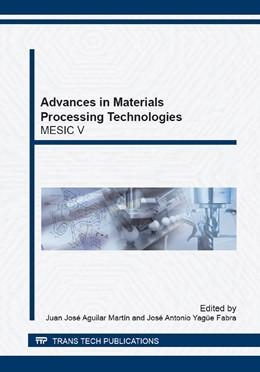Abbildung von Aguilar Mart?n / Yag?e Fabra | Advances in Materials Processing Technologies | 1. Auflage | 2014 | Volume 797 | beck-shop.de