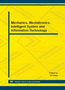 Abbildung von Wang | Mechanics, Mechatronics, Intelligent System and Information Technology | 1. Auflage | 2014 | Volume 610 | beck-shop.de