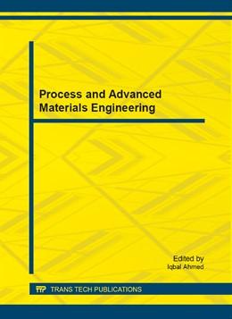Abbildung von Ahmed | Process and Advanced Materials Engineering | 2014 | Volume 625