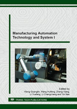 Abbildung von Wang / Zhang | Manufacturing Automation Technology and System I | 1. Auflage | 2014 | Volume 620 | beck-shop.de