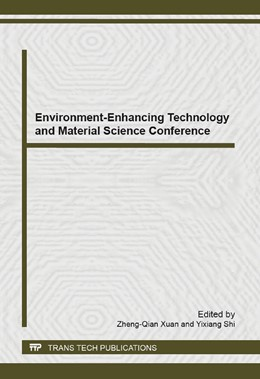 Abbildung von Xuan / Shi | Environment-Enhancing Technology and Material Science Conference | 2014 | Volume 1002