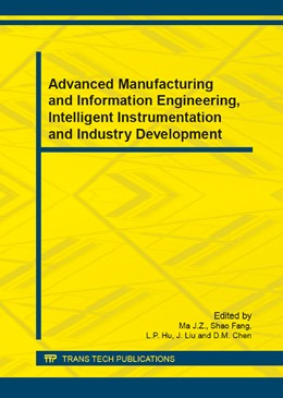 Abbildung von Ma / Shao | Advanced Manufacturing and Information Engineering, Intelligent Instrumentation and Industry Development | 1. Auflage | 2014 | Volumes 602-605 | beck-shop.de
