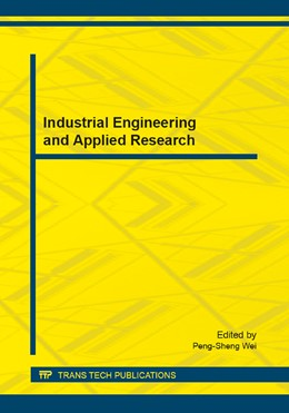 Abbildung von Wei | Industrial Engineering and Applied Research | 2014 | Volume 620