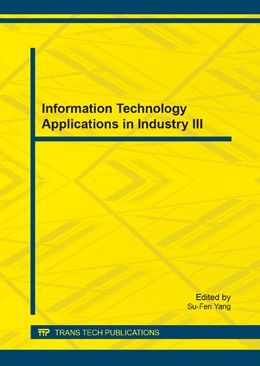 Abbildung von Yang | Information Technology Applications in Industry III | 2014 | Volumes 631-632