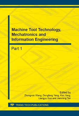 Abbildung von Wang / Yang | Machine Tool Technology, Mechatronics and Information Engineering | 1. Auflage | 2014 | Volumes 644-650 | beck-shop.de