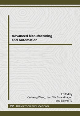 Abbildung von Wang / Strandhagen | Advanced Manufacturing and Automation | 1. Auflage | 2014 | Volume 1039 | beck-shop.de