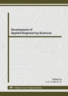 Abbildung von Yu / Xu | Development of Applied Engineering Sciences | 2014 | Volume 1037