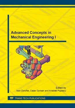 Abbildung von Doroftei / Oprisan / Popescu | Advanced Concepts in Mechanical Engineering I | 2014 | Volume 658
