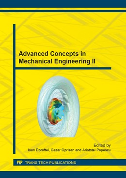 Abbildung von Doroftei / Oprisan / Popescu | Advanced Concepts in Mechanical Engineering II | 2014 | Volume 659