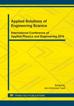 Abbildung von Yusof | Applied Solutions of Engineering Science | 2014 | Volume 661