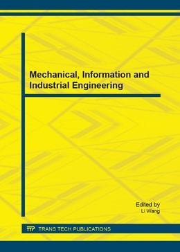 Abbildung von Wang | Mechanical, Information and Industrial Engineering | 1. Auflage | 2015 | Volume 740 | beck-shop.de