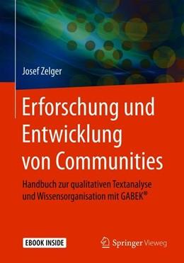 Abbildung von Zelger | Erforschung und Entwicklung von Communities | 2020 | Handbuch zur qualitativen Text...
