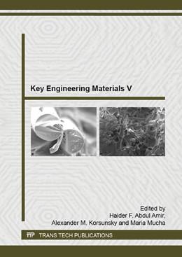 Abbildung von Abdul Amir / Korsunsky | Key Engineering Materials V | 1. Auflage | 2015 | Volume 1119 | beck-shop.de