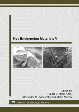 Abbildung von Abdul Amir / Korsunsky / Mucha | Key Engineering Materials V | 2015 | Volume 1119
