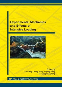 Abbildung von Wang / Zhang | Experimental Mechanics and Effects of Intensive Loading | 1. Auflage | 2015 | Volume 782 | beck-shop.de