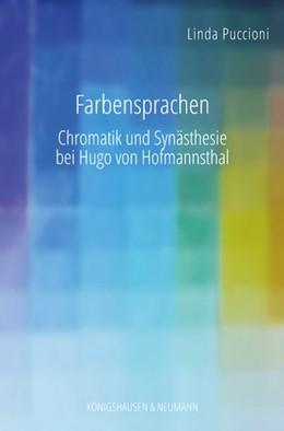 Abbildung von Puccioni   Farbensprachen   1. Auflage   2019   beck-shop.de