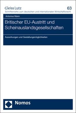 Abbildung von Mann | Britischer EU-Austritt und Scheinauslandsgesellschaften | 2019 | Auswirkungen und Gestaltungsmö...