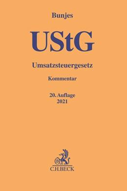 Abbildung von Bunjes | Umsatzsteuergesetz: UStG | 19., neubearbeitete Auflage | 2020
