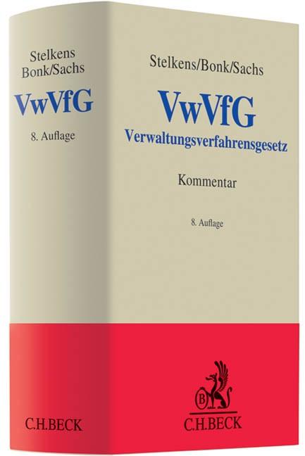 Verwaltungsverfahrensgesetz: VwVfG | Stelkens / Bonk / Sachs | Buch (Cover)