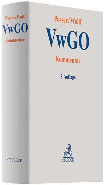VwGO | Posser / Wolff | 2. Auflage, 2013 | Buch (Cover)
