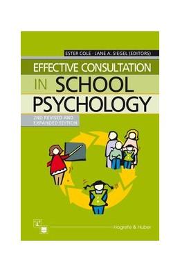 Abbildung von Cole / Siegel | Effective Consultation in School Psychology | 2003