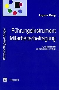 Führungsinstrument Mitarbeiterbefragung | Borg, 2003 | Buch (Cover)