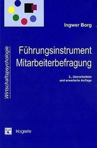 Abbildung von Borg | Führungsinstrument Mitarbeiterbefragung | 2003