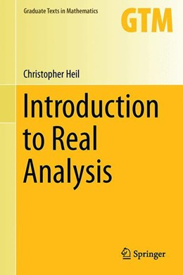 Abbildung von Heil | Introduction to Real Analysis | 1st ed. 2019 | 2019 | 280