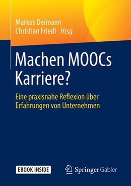 Abbildung von Deimann / Friedl | Machen MOOCs Karriere? | 1. Auflage | 2019 | beck-shop.de