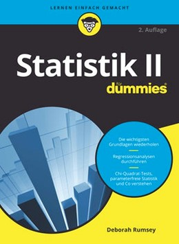 Abbildung von Rumsey | Statistik II für Dummies | 2. Auflage | 2019 | beck-shop.de