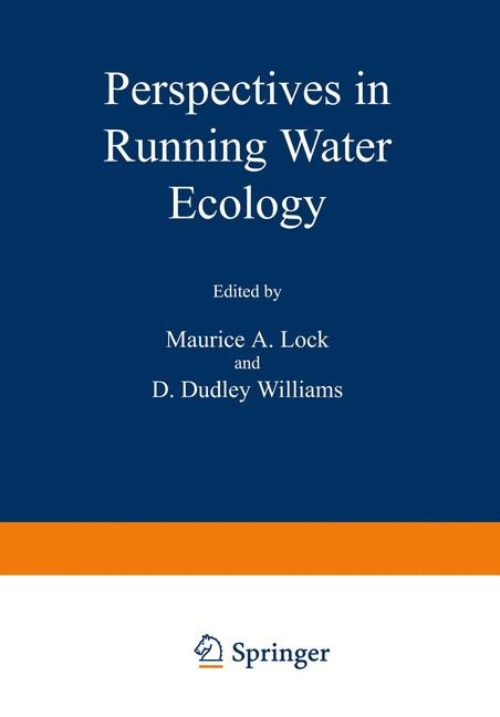 Perspectives in Running Water Ecology | Lock, 1981 | Buch (Cover)