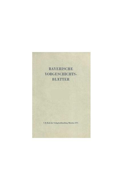 Cover: , Bayerische Vorgeschichtsblätter 2019