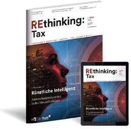 Abbildung von Rethinking Tax | 1. Auflage | 2021 | beck-shop.de