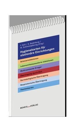 Abbildung von Dr. Schimmelpfennig / Bodenburg / Dr. Brill | Hygienekarten für stationäre Einrichtungen | Auflage | 2019 | Die 20 wichtigsten Erreger von...