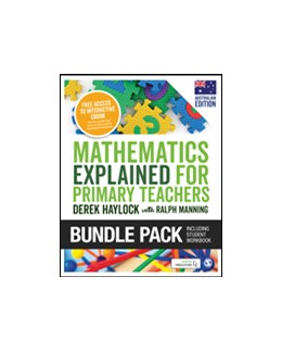 Abbildung von Haylock / Manning | Haylock: Mathematics Explained for Primary Teachers (Australian edition) + Student Workbook bundle | 1. Auflage | 2019 | beck-shop.de