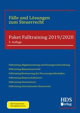 Abbildung von Wall / Schröder / Fränznick | Paket Falltraining 2019/2020 | 5. Auflage | 2019 | Fälle und Lösungen zum Steuerr...