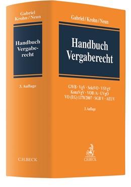 Abbildung von Gabriel / Krohn | Handbuch Vergaberecht | 3. Auflage | 2021 | beck-shop.de