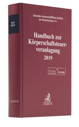 Abbildung von Handbuch zur Körperschaftsteuerveranlagung 2019: KSt 2019 | 2020