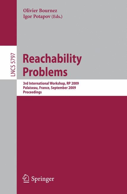 Reachability Problems | Bournez / Potapov, 2009 | Buch (Cover)