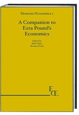 Abbildung von Lüfter / Preda | A Companion to Ezra Pound's Economics | 1. Auflage | 2019 | beck-shop.de